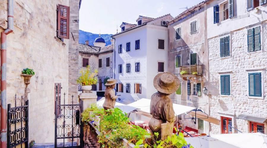 La cittadella di Kotor