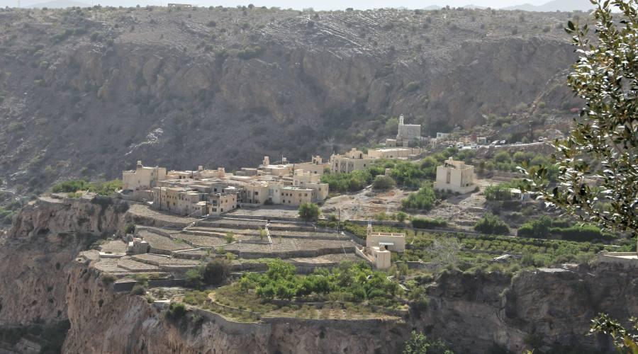 Jabal Akhdar -Plateaux