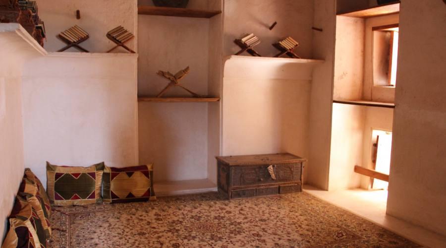 Forte di Jabreen -sala di lettura
