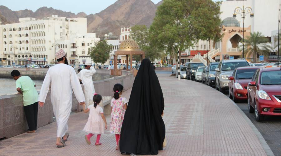 Muscat - Passeggiata alla corniche