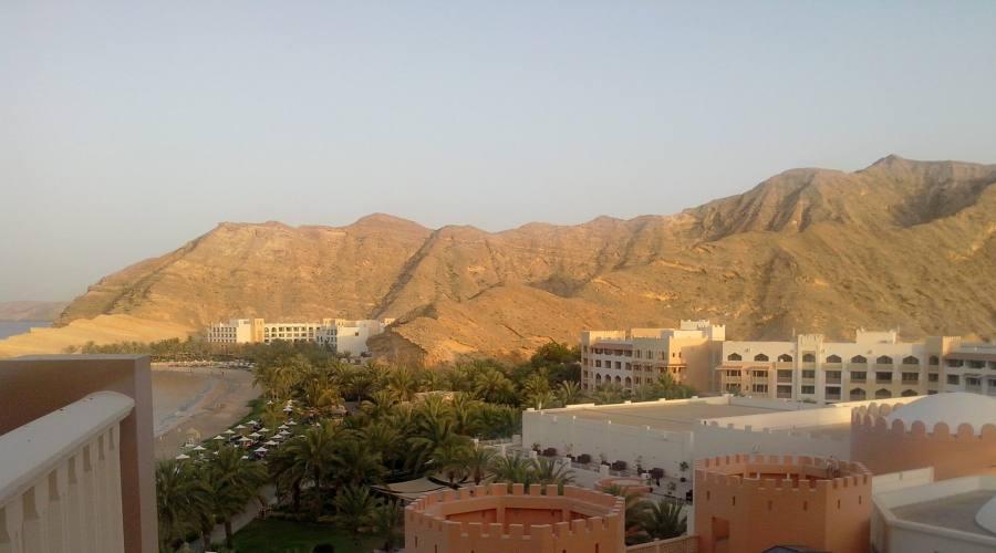 Muscat- vista dall'hotel Shangri La