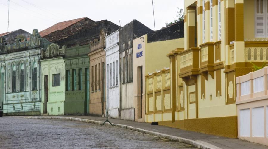 Baía da Traição la città storica