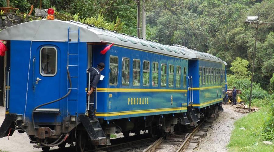 In treno per il Machu Picchu