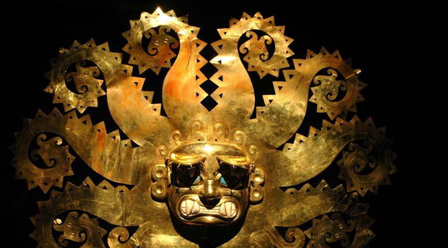 Maschera d'oro