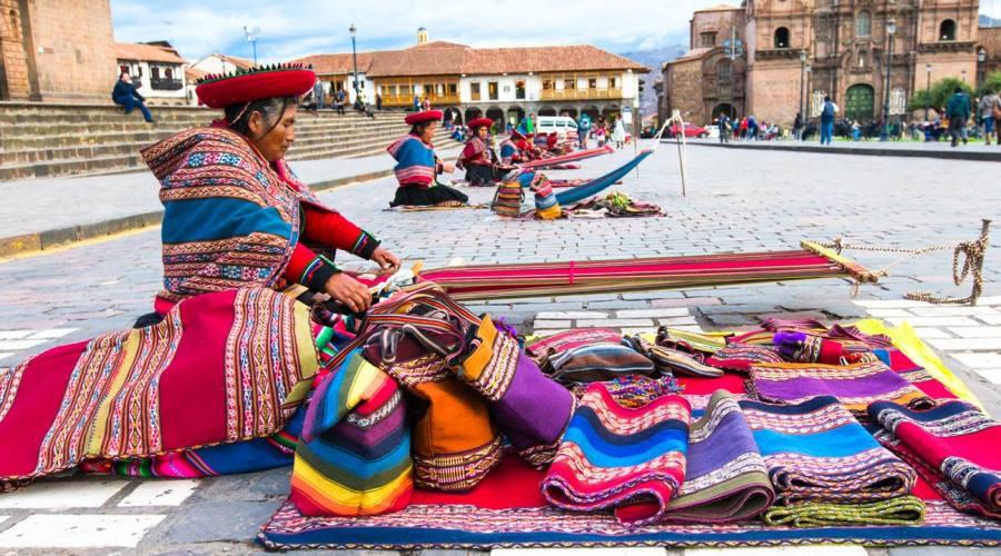 Cusco, mercato all'aperto