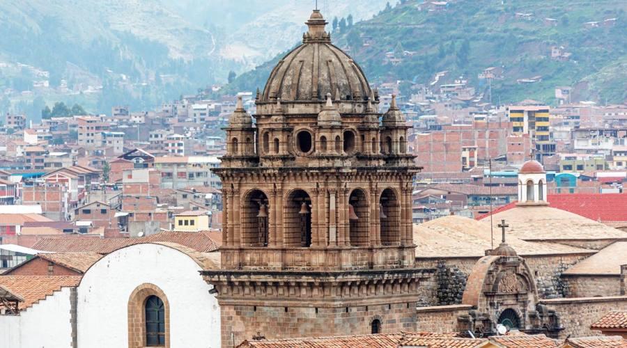 Campanile a Cusco