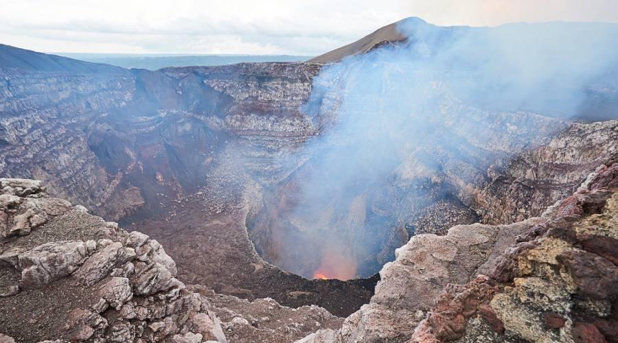 Fumarola del vulcano Masaya