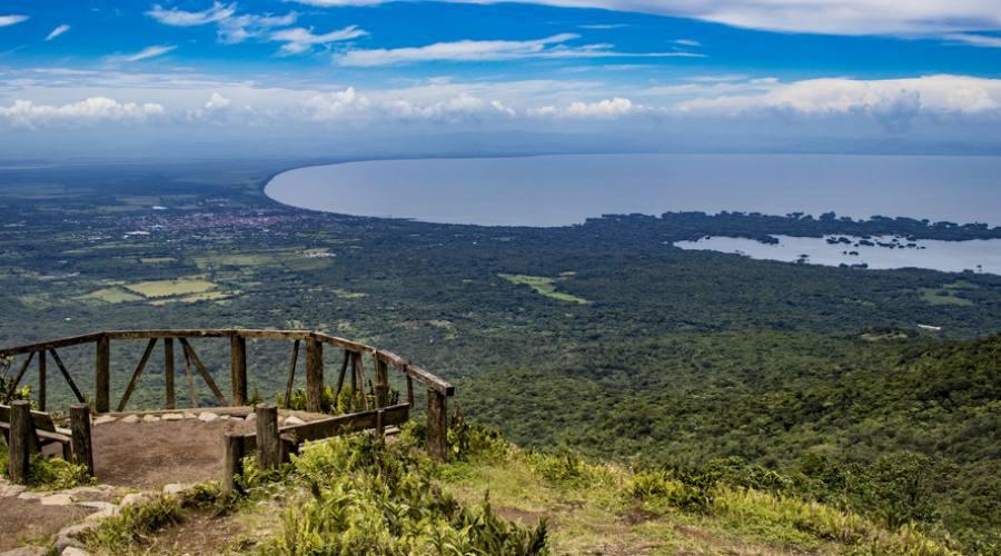 Panorama dal vulcano Mombacho