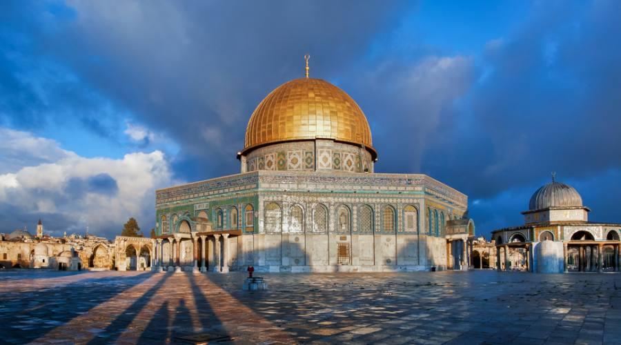 """Gerusalemme """"La Spianata delle Moschee"""""""