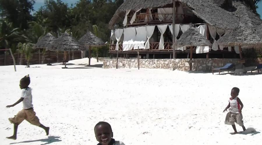 La spiaggia di Pwani Mchangani