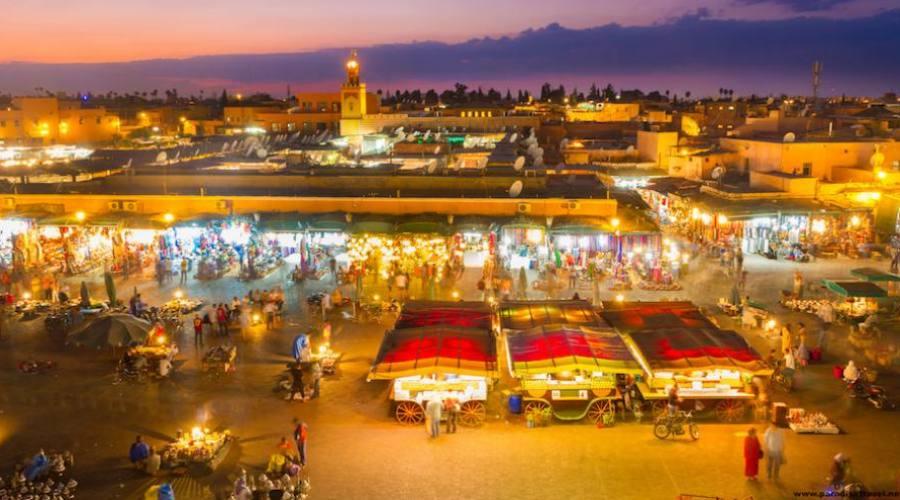 Marrakech - Place Jamaa El Fna