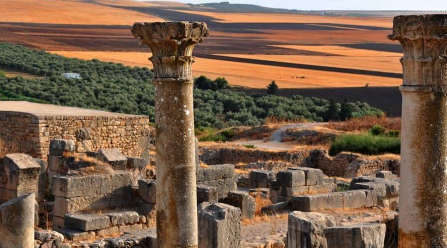 Volubilis, les ruines romaines