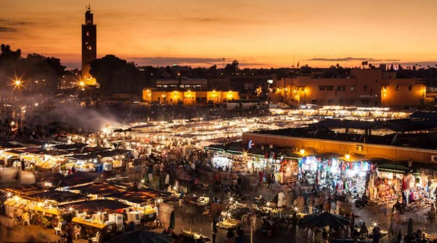 Marrakech - Place Jamaa Al Fnaa