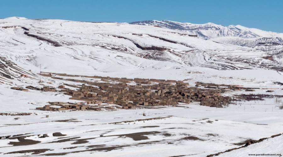 Agoudal- Le plus haut village du Maroc