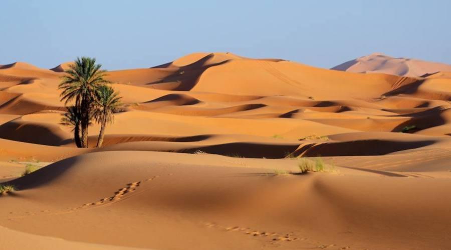 Merzouga, les grandes dunes