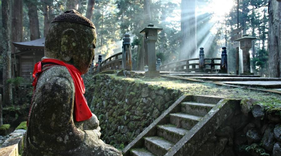 Cimitero Okunoin sul Monte Koya