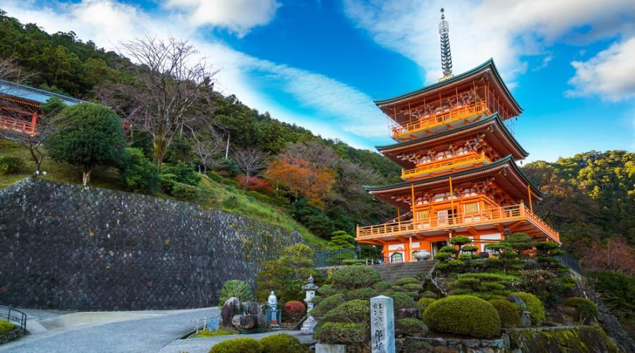 Pagoda di Seiganto-ji a Katsuura