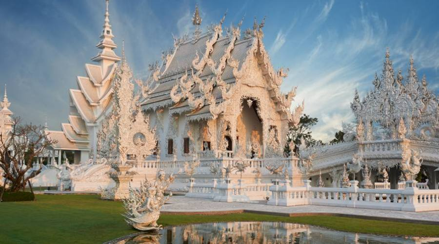 Temple blanc de Chiang Rai