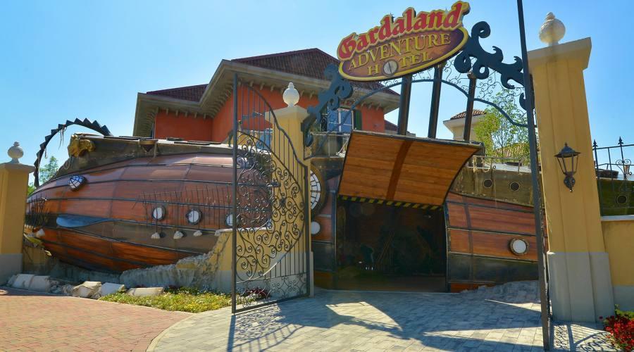 Gardaland Adventure Hotel - L'ingresso