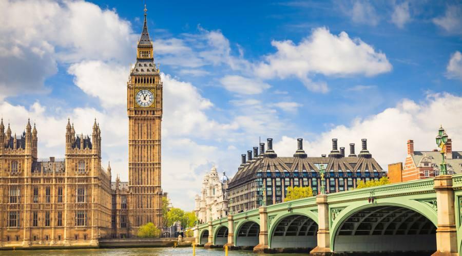 Londra, il Big Ben e la casa del Parlamento
