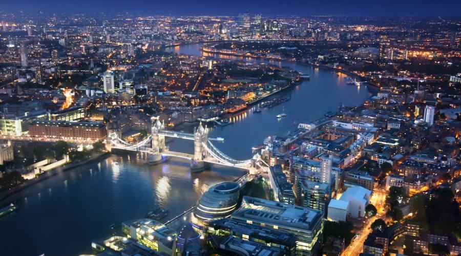 Londra di notte: Amazing!