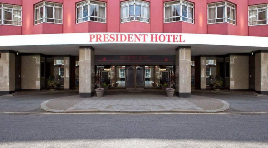 Londra, esterno Hotel President