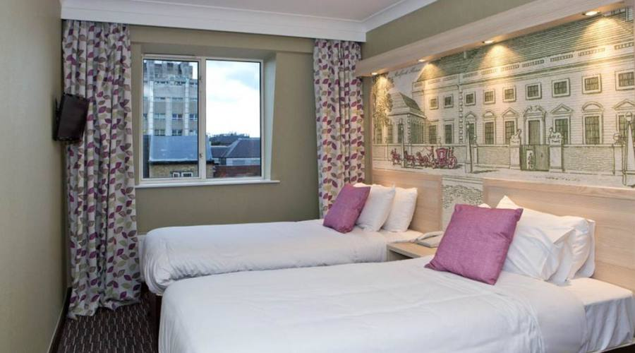 Londra, camera standard Hotel President