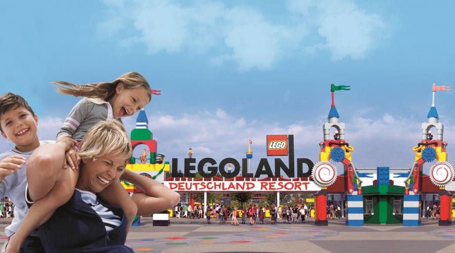 Accedi con noi al parco Legoland!