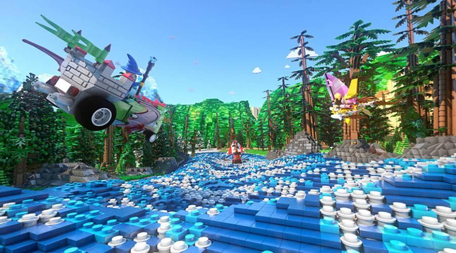 Le proiezioni 3D Lego Race!