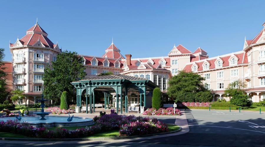 Disneyland Hotel - Ingresso
