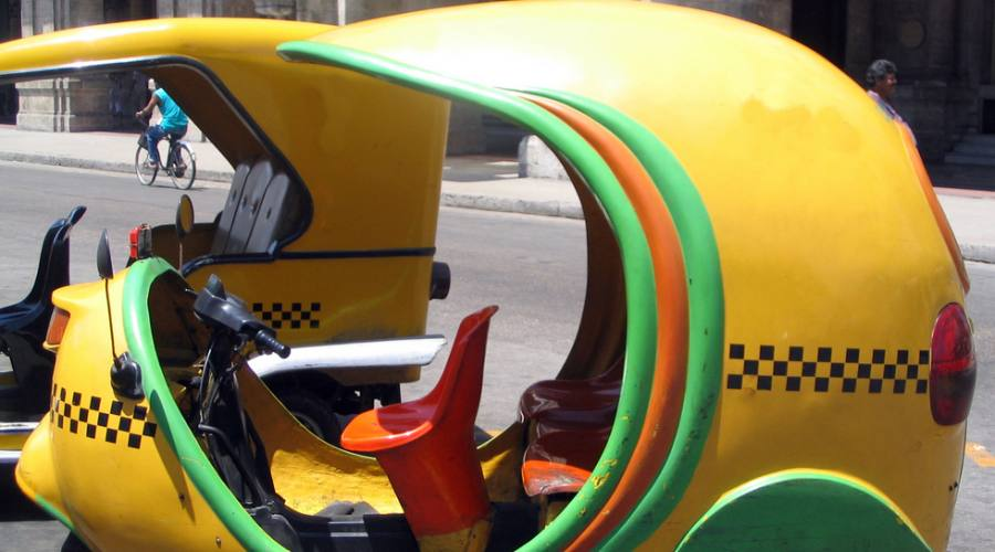 Coco Taxi all'Havana
