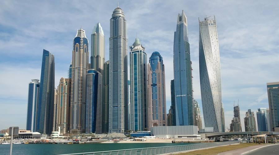 Dubai - Una veduta della città