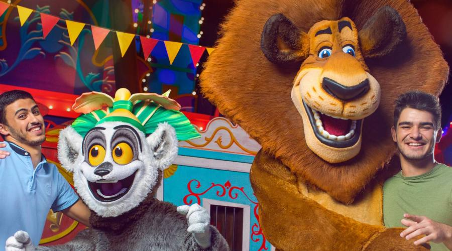 """Il live show di """"Madagascar"""""""