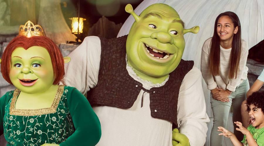 Live Show di Shrek