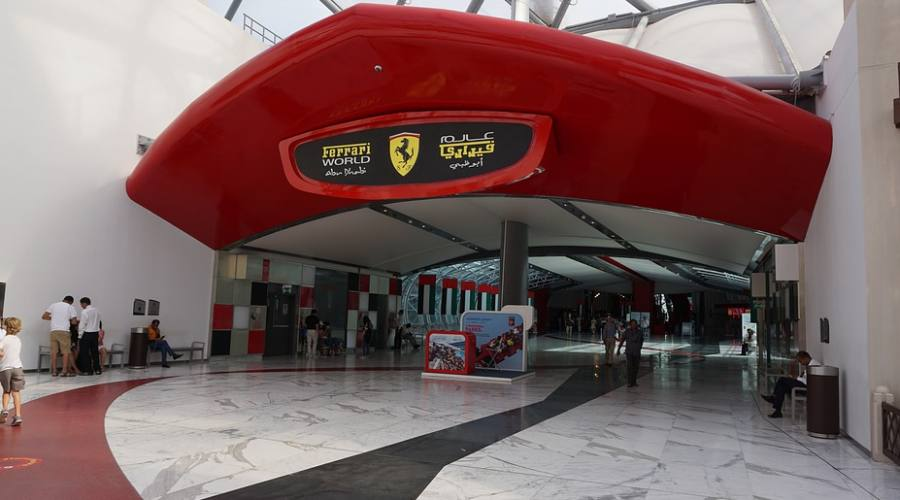 Ferrari World - Ingresso