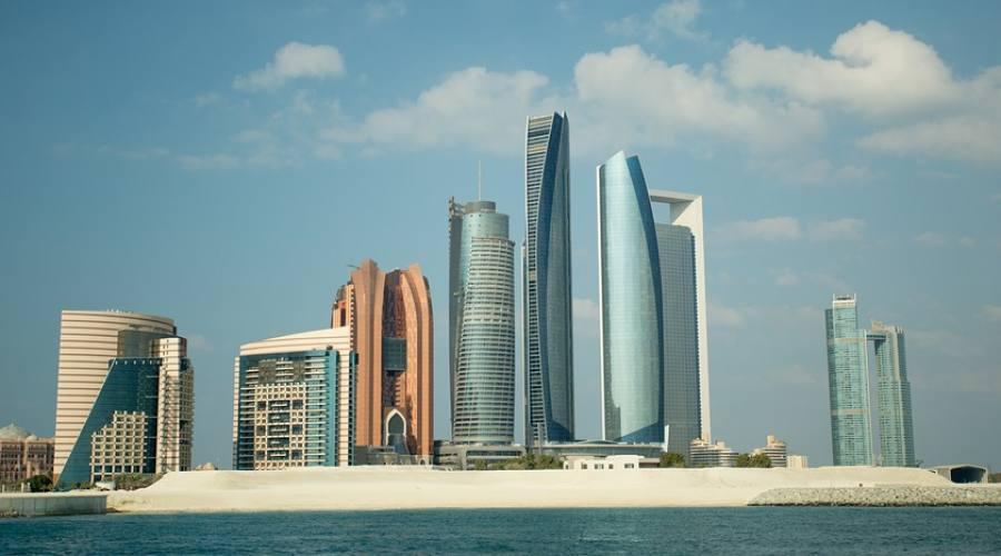 Abu Dhabi - La città
