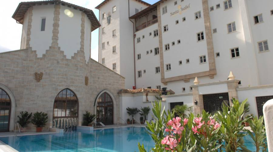 Santa Isabel - La piscina
