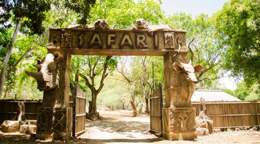 Safari al Casela Park