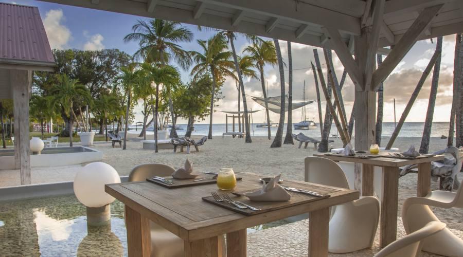 Club Med Les Boucaniers - il ristorante sulla spiaggia