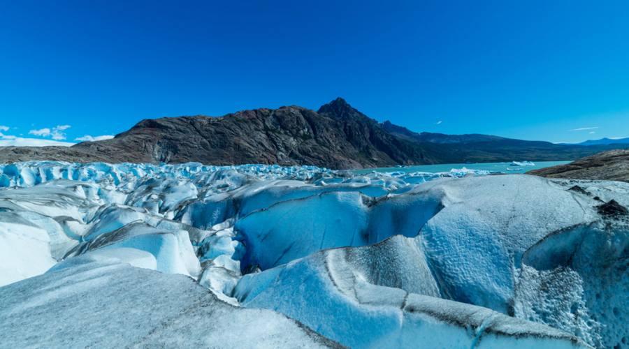 Il ghiacciaio Viedma