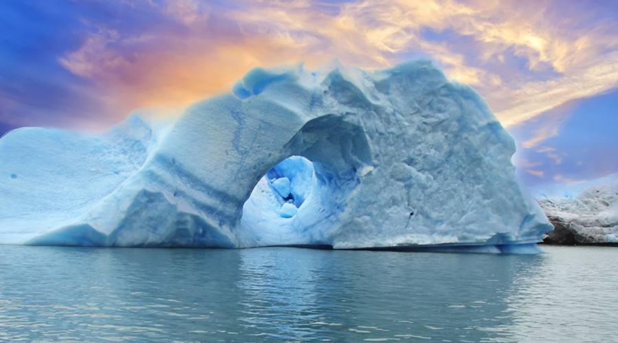 Uno spettacolare iceberg