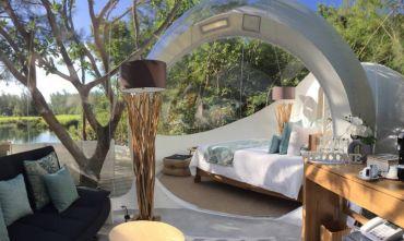 Una notte sotto le stelle: soggiorna in un Bubble Lodge!