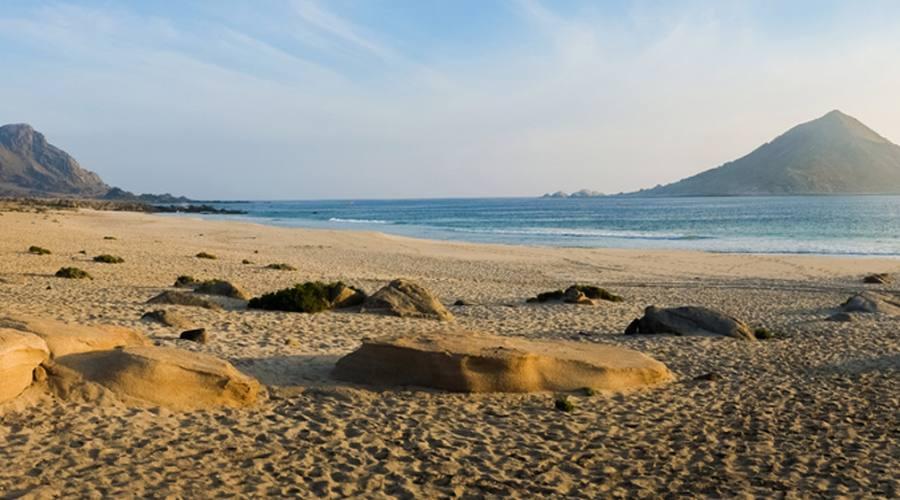 Spiaggia nel Parco nazionale Pan de Azucar