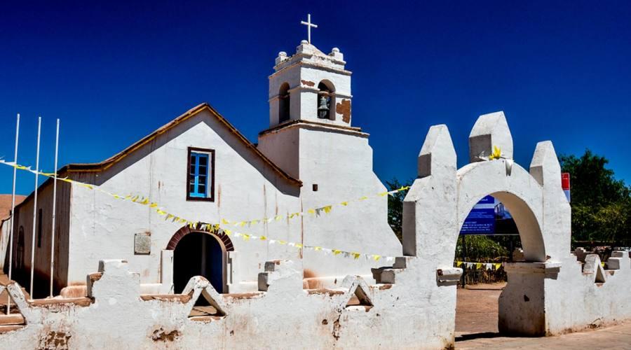 Chiesa a San Pedro de Atacama