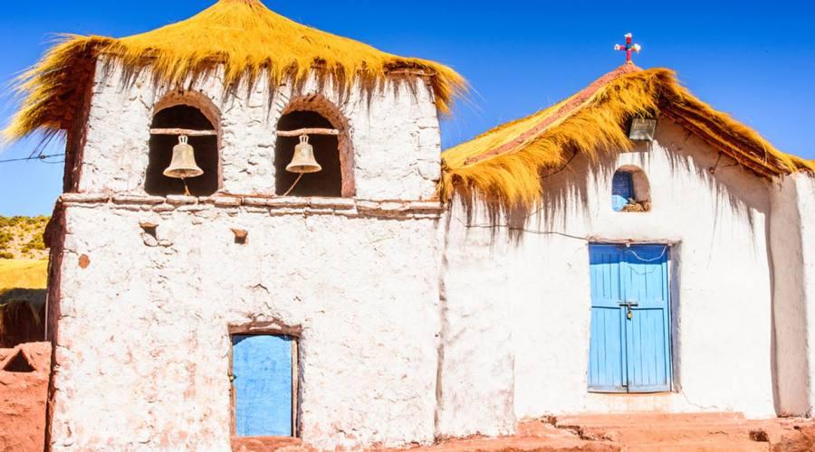 Chiesetta nei pressi di San Pedro de Atacama
