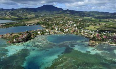 Combinato di 2 isole nelle Antille Francesi