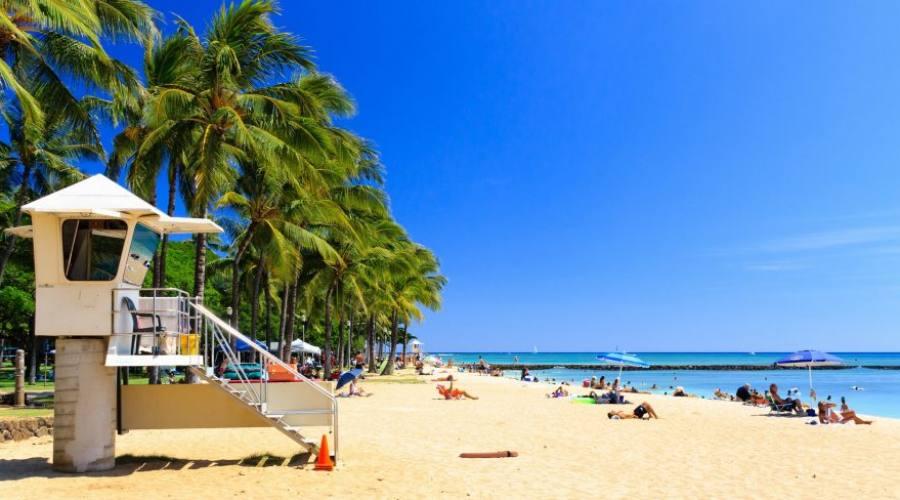 Honolulu spiaggia