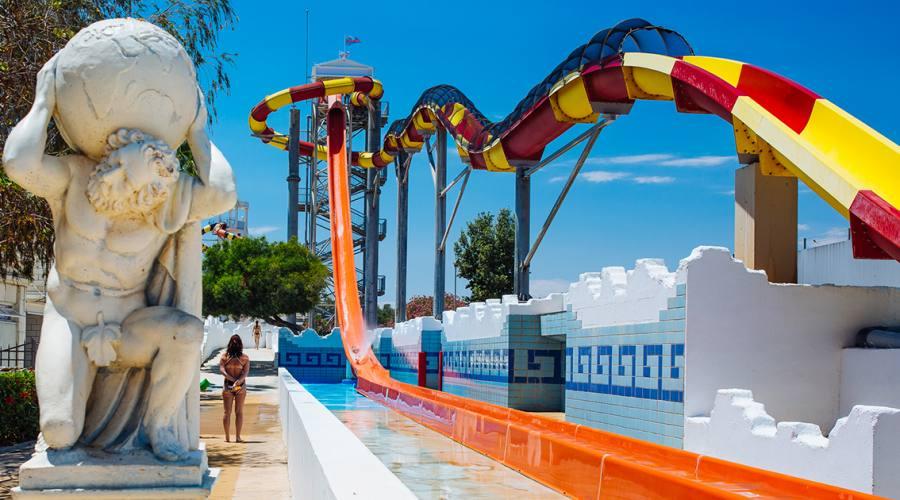Waterworld: il parco acquatico ispirato ai miti greci!