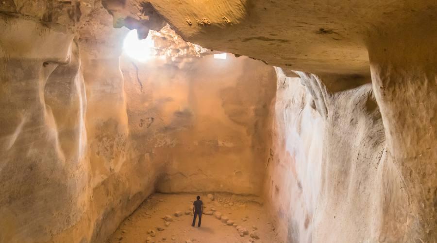 Cisterna Sotterranea a Masada