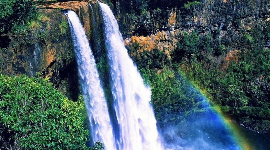Kauai - le cascate del Wailua river